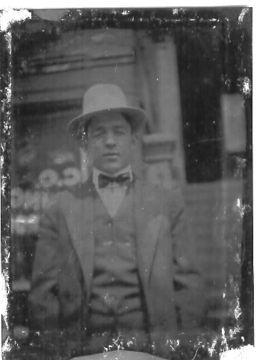 William Howard Furnier, my paternal great grandpa. , possibly in Cincinnati, likely sometime in the 1910s or 1920s.