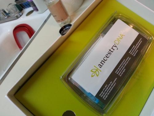 Freshly opened DNA kit!