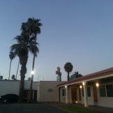 Hotel and Courtesy Coffee Shop in Blythe, California