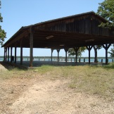 Old dance pavilion at Lake Murray
