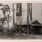 """Officers hut and area across from E.M. Bks.(?) Cubi Point P.I."""
